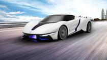 北汽新能源高性能超跑 极速达260km/h