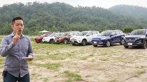 六款热门SUV集评 RAV4/全新途胜齐上阵