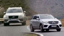 七座SUV之争 沃尔沃XC90对比奔驰GLE级
