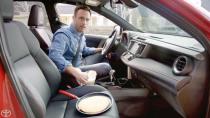 2016款丰田RAV4 副驾驶座椅可电加热