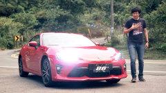 媒体评测2017款丰田86 搭载2.0L发动机