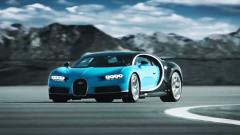 超跑王者布加迪Chiron 极速可达420km/h