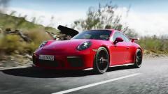 新款保时捷911 GT3深夜爆发 3.4秒破百