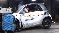 E-NCAP碰撞测试 smart fortwo获五星