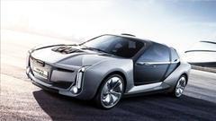 科幻!观致Model K-EV电动超跑概念车