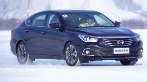 广汽传祺GA6引领家族出动 畅爽冰雪体验