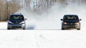 冬季测试四款性能车
