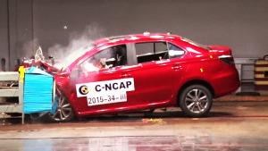 艾瑞泽3 C-NCAP碰撞测试