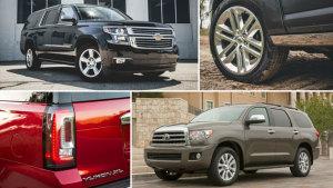 盘点六款最佳大型SUV