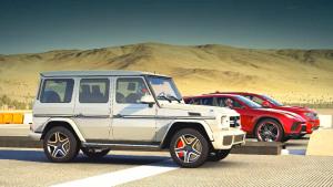 三款SUV直线竞速比拼