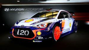 现代车队打造i20 WRC赛车