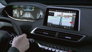 标致3008配3D智能导航