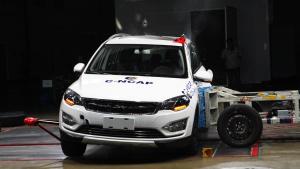C-NCAP 众泰大迈X5获5星