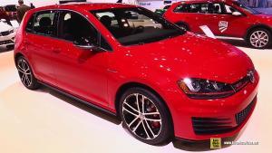 新款高尔夫GTI车展实拍