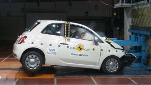 菲亚特500 E-NCAP碰撞测试