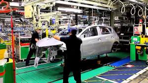 实拍丰田汽车英国工厂