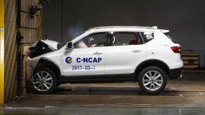 C-NCAP  哈弗H7蓝标版获5星