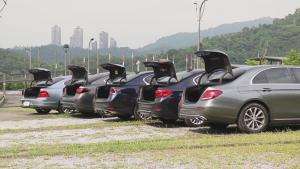 5款大中型轿车空间对比测试