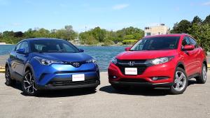 本田HR-V对比丰田C-HR
