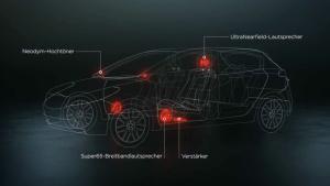 日产玛驰 Bose音响环绕系统