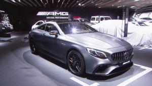 新奔驰AMG S63亮相