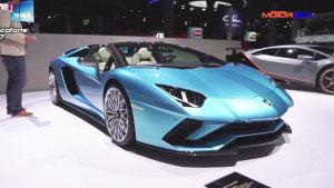 兰博基尼Aventador S敞篷版