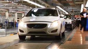 沃尔沃V60 工厂生产
