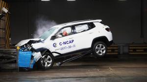 C-NCAP碰撞 指南者荣获5星
