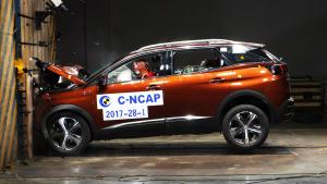 C-NCAP碰撞 标致4008获5星