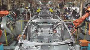 2014款众泰T600 解读汽车生产流程