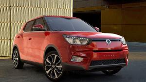 动感小型SUV 双龙Tivoli内饰外观展示