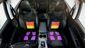 全新福特S-MAX 多功能座椅详细介绍