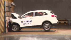 C-NCAP碰撞测试 绅宝X65荣获5星