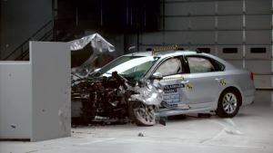 2016款帕萨特北美版 IIHS正面25%碰撞