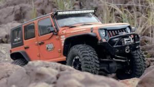 Jeep牧马人遥控车越野