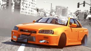 《侠盗猎车手5》 改装赛车城市极限漂移