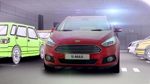 全新福特S-MAX 自动泊车辅助系统展示