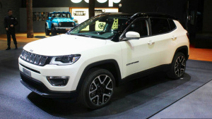 2017日内瓦车展 全新Jeep指南者亮相