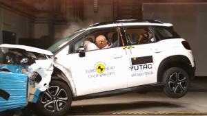 E-NCAP碰撞测试 雪铁龙C3 AIRCROSS