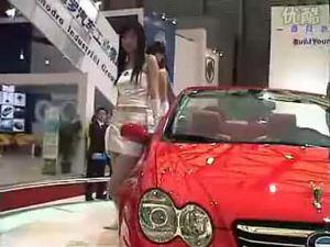 上海车展新车之--比亚迪F8广受瞩目