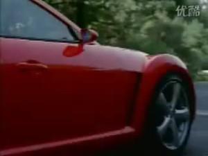 极速性能极速体验红色马自达RX8