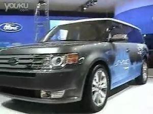 跨界车型 上海车展特写福特Flex