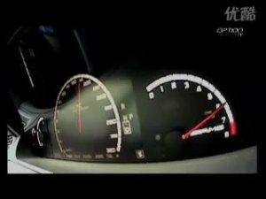 梅赛德斯奔驰CL63 AMG一路狂飙到260