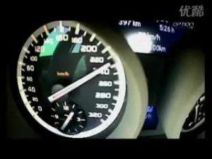 梅赛德斯奔驰SLK55 AMG极速狂飙265Kmh