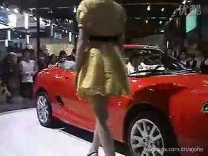 08北京车展MG展厅第一时间视频