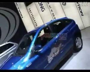 2008北京车展--双龙展区吸引大批车友