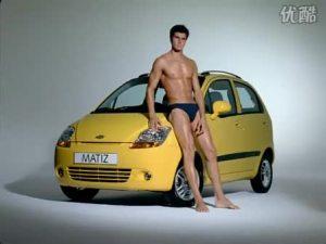雪佛兰汽车另类广告健美男人篇