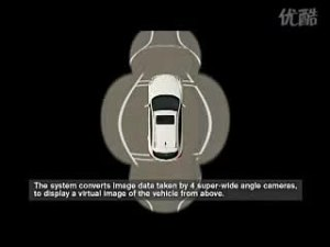 英菲尼迪EX全景式监控影像系统演示