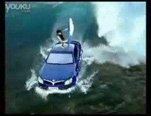 华晨中华酷宝跑车精彩广告视频