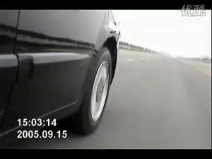 中华尊驰左后轮吉利BMBS爆胎演示